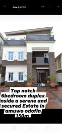 6 bedroom Detached Duplex House for sale In An Estate Amuwo Odofin Lagos