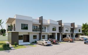 4 bedroom Terraced Duplex House for sale Christ Embassy road Aseese, Ogun state. Ibafo Obafemi Owode Ogun