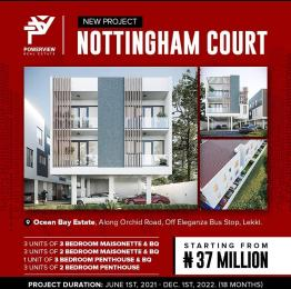 3 bedroom Massionette House for sale Orchid Road chevron Lekki Lagos