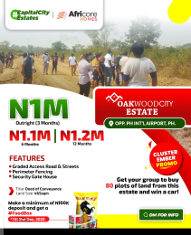 Residential Land Land for sale Ipo Port Harcourt Rivers