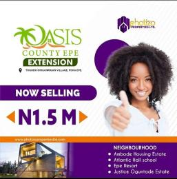 Residential Land for sale Attogodo Ariganrigan Village Epe Road Epe Lagos