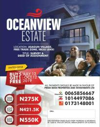 Mixed   Use Land Land for sale  Asegun Village, close to lekki Free Trade Zone Axis, Ibeju Lekki. Free Trade Zone Ibeju-Lekki Lagos