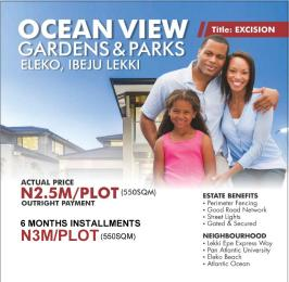 Residential Land for sale Eloko Beach Pan Africa Eleko Ibeju-Lekki Lagos