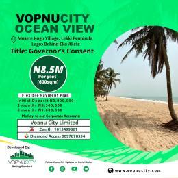 Commercial Land for rent Behind Eko Akete, Abijo Gra, Akan Lagos Off Lekki-Epe Expressway Ajah Lagos