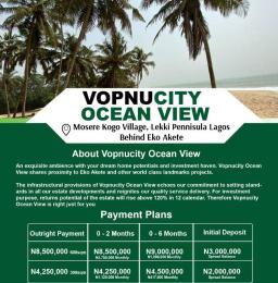Residential Land for sale Vopnu City Ocean View Estate Abijo Ajah Lagos