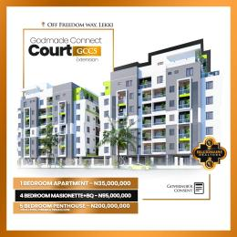 1 bedroom House for sale Godmade Connect Court 5 With Governor's Consent Ikate Lekki Lagos