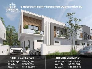 Semi Detached Duplex for sale Imperial Court Abijo Gra Abijo Ajah Lagos