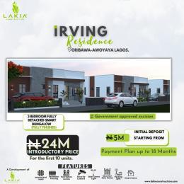 Detached Bungalow for sale Irving Residence Oribanwa Lekki Awoyaya Ajah Lagos