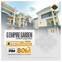 Semi Detached Duplex for sale G Empire Garden Guzape Abuja