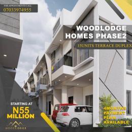 4 bedroom Terraced Duplex for sale Woodlodge Estate Mobile Road Ilaje Ajah Lagos