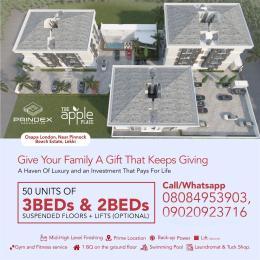 2 bedroom Flat / Apartment for sale Near Pinnock Beach Estate Osapa london Lekki Lagos
