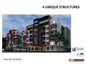 2 bedroom Blocks of Flats for sale Opposite New Horizon Court Estate Ikate Lekki Lagos