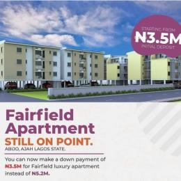 2 bedroom Mini flat Flat / Apartment for sale Fairfield Apartments, Abijo, Lekki Lagos Abijo Ajah Lagos