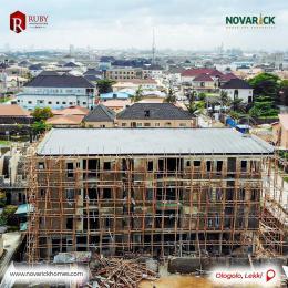 2 bedroom Blocks of Flats for sale Rubby Apartments Ologolo Lekki Lagos
