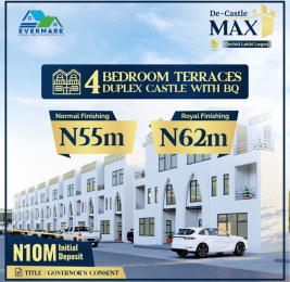 4 bedroom Terraced Duplex for sale Decastle Orchid Road chevron Lekki Lagos