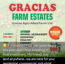 Commercial Land Land for sale Ketu (strictly Agricultural Land) Epe Lagos