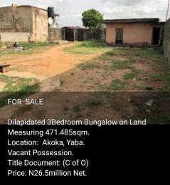 House for rent Akoka Yaba Lagos