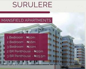 1 bedroom mini flat  Shared Apartment Flat / Apartment for sale Surulere Lagos