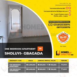 1 bedroom mini flat  Mini flat Flat / Apartment for sale Soluyi Gbagada Lagos