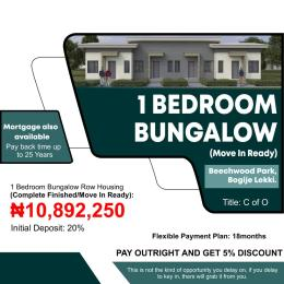 1 bedroom mini flat  Semi Detached Bungalow House for sale Beechwood Park Estate Bogije Sangotedo Lagos