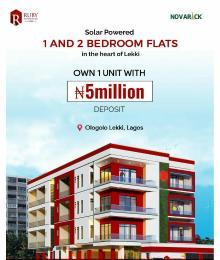 1 bedroom mini flat  Mini flat Flat / Apartment for sale Ruby Apartment, Off Lekki Epe Expressway Ologolo Lekki Lagos