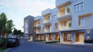4 bedroom Terraced Duplex House for sale Dape District Life Camp Abuja
