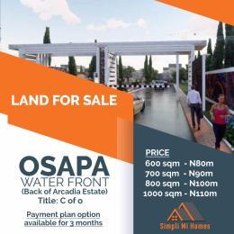 Mixed   Use Land Land for sale Behind Arcadia Estate Osapa Off Lekki Epe Express Osapa london Lekki Lagos