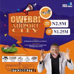 Residential Land Land for sale Owerri MBAKWE International Airport  Owerri Imo