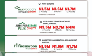 Residential Land for sale Obinze, Avu, Owerri Imo