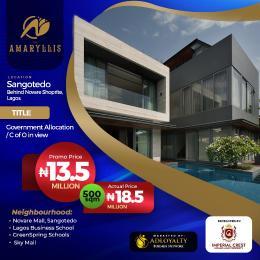 Mixed   Use Land for sale Behind Novare Mall(shoprite) Sangotedo Lagos