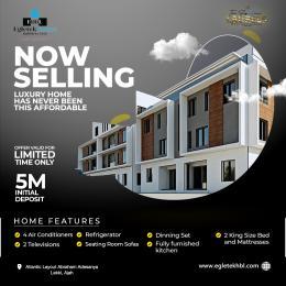 3 bedroom Blocks of Flats House for sale Atlantic Layout Estate Abraham adesanya estate Ajah Lagos