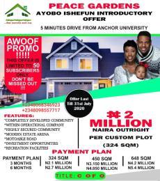 Mixed   Use Land Land for sale Ayobo-Ishefun Road Ayobo Ipaja Lagos
