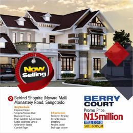 Land for sale Berry Court Estate Is Behind Shoprite, Off Monastery Road, Sangotedo, Ajah Sangotedo Ajah Lagos