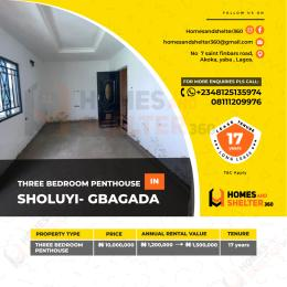 3 bedroom Penthouse Flat / Apartment for sale Gbagada Lagos