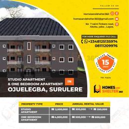 1 bedroom mini flat  Mini flat Flat / Apartment for sale Ojuelegba Surulere Lagos