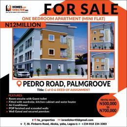 1 bedroom mini flat  Mini flat Flat / Apartment for sale Pedro road Palmgroove Shomolu Lagos