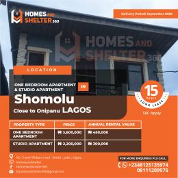 Mini flat Flat / Apartment for sale With easy access to onipanu  Shomolu Lagos