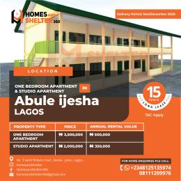 Studio Apartment Flat / Apartment for sale Abule-Ijesha Yaba Lagos