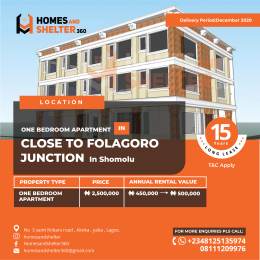 Flat / Apartment for sale Shomolu Lagos