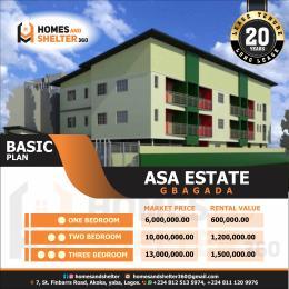 1 bedroom Blocks of Flats for sale Asa Estate Soluyi Gbagada Lagos