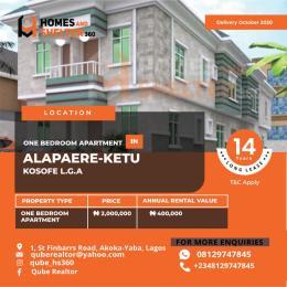1 bedroom mini flat  Mini flat Flat / Apartment for sale Alapere  Ketu Lagos