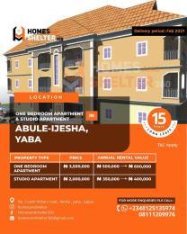 1 bedroom mini flat  Mini flat Flat / Apartment for sale Abule-Ijesha Yaba Lagos