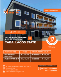 1 bedroom mini flat  Self Contain Flat / Apartment for sale Onike Yaba Lagos