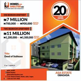 Mini flat Flat / Apartment for rent Asa Estate  Gbagada Lagos