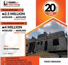 1 bedroom mini flat  Mini flat Flat / Apartment for sale Ifako-gbagada Gbagada Lagos