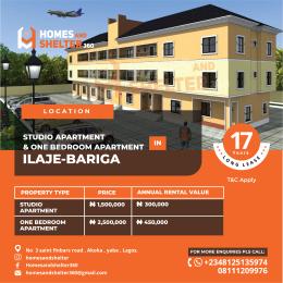 1 bedroom Mini flat for sale   Bariga Shomolu Lagos