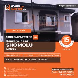 Studio Apartment Flat / Apartment for sale Off bajuliaye road Shomolu Lagos