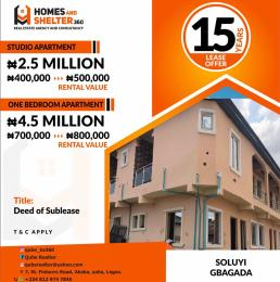 Self Contain for sale Soluyi Gbagada Lagos