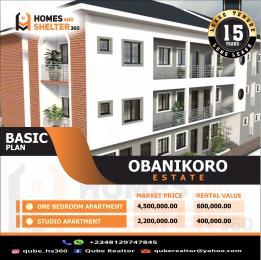 1 bedroom Self Contain for sale Obanikoro Shomolu Lagos