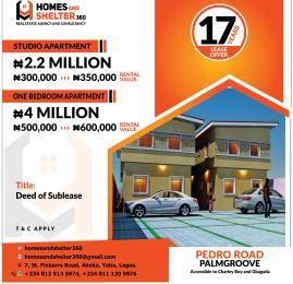 1 bedroom Studio Apartment for sale Off Pedro Road Shomolu Lagos